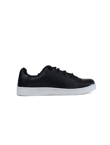 Wonder Plain Black Trainer