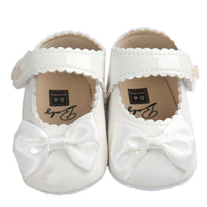 Baby Girl shoes lovely Bowknot Leather 5 color