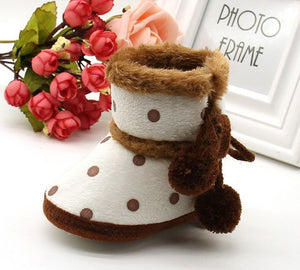 Baby Girls Boys Soft Booties Snow Boots Infant