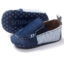 Baby Shoes Boy Striped Shallow Slip On Baby