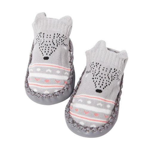 Cartoon Newborn Baby Girls Boys shoes Anti-Slip