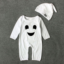 Cute 2PCS Halloween Baby Boys Girls Cartoon Print