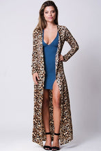 Load image into Gallery viewer, CHEETAH PRINT DUSTER