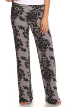 Load image into Gallery viewer, Women's Printed Palazzo Pants Made in USA