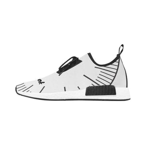 Wakerlook Black and White Draco Sneakers
