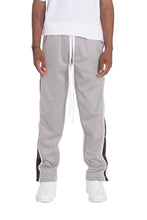 Load image into Gallery viewer, SNAP BUTTON TRACK PANTS- GREY