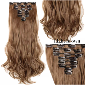 Curly Wavy Hair Extensions Lexi Noel Beauty