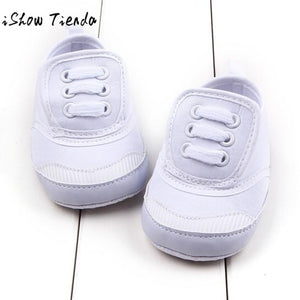 NEWEST Baby Shoes  Solid Color Bandage Lacing Up