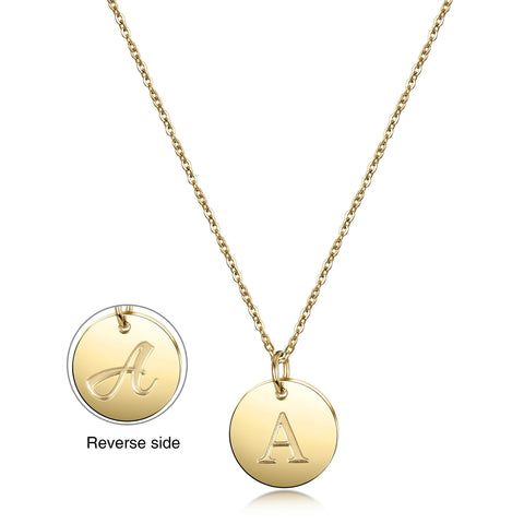 Gold Initial Charmy Necklace