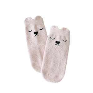 Newborn Kids Girl Boy socks Print Baby Socks