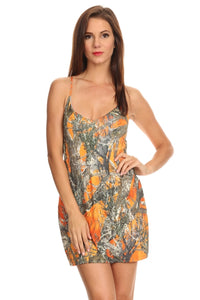 Women's Camo Cross String Beach Dress True Timber