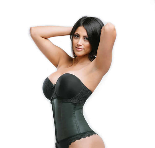 Sweet Look Latex Sport Girdle Corset - RM08