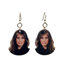 Load image into Gallery viewer, Melania Trump Earrings #T089