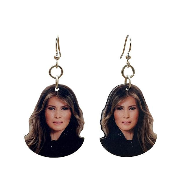 Melania Trump Earrings #T089