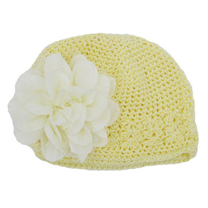 Toddlers Infant Baby Girl caps Fashion Flower