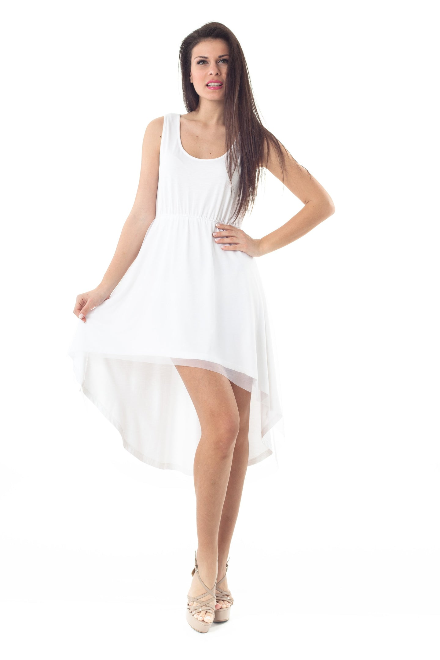High Low Layer Dress
