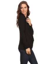 Women's Long Sleeve Criss Cross Cardigan Small to