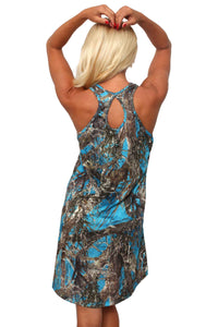 Women's Camo Tank Dress Authentic True Timber Made
