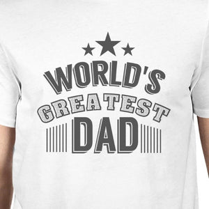 World's Greatest Dad Mens Graphic Shirt Fathers
