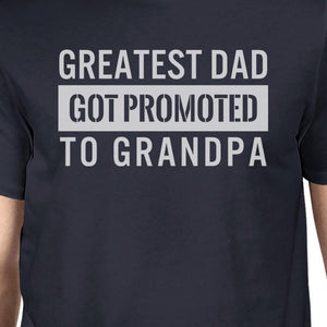 Got Promoted To Grandpa Men's Funny Graphic Shirt