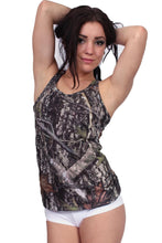 Women's Camo Tank Top True Timber Racer Back Made