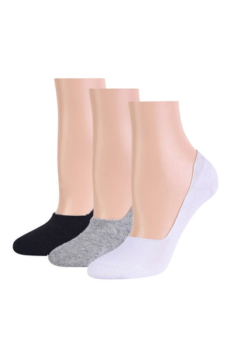 3 pair no show liner socks