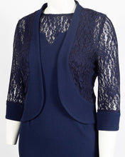 Load image into Gallery viewer, Maya Brookes 2 Piece Day Jacket Dress Suit