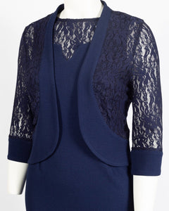 Maya Brookes 2 Piece Day Jacket Dress Suit