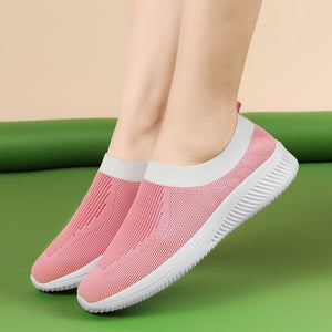 Sock Sneakers Flat Shoes Women Shoes Slip on Platform Sneakers Women