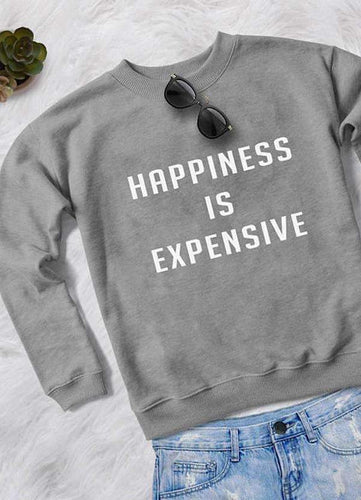 HAPPINESS WOMEN SWEAT SHIRT