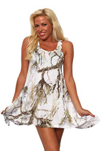 Women's Camo Flare Dress Authentic True Timber