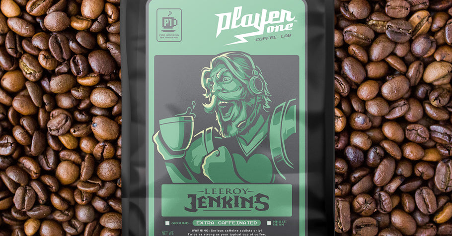 Boost Your Gaming Performance With Player One Coffee