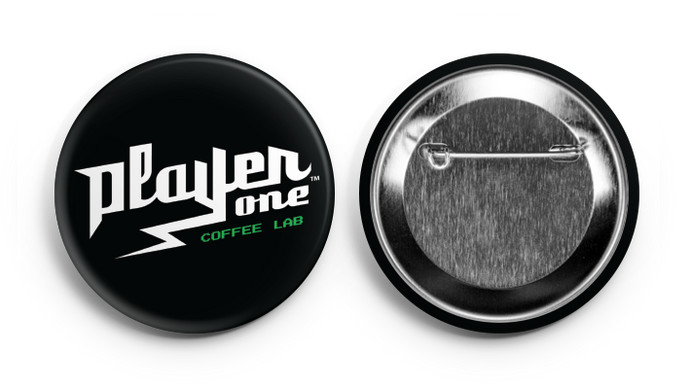 Player One Coffee Button