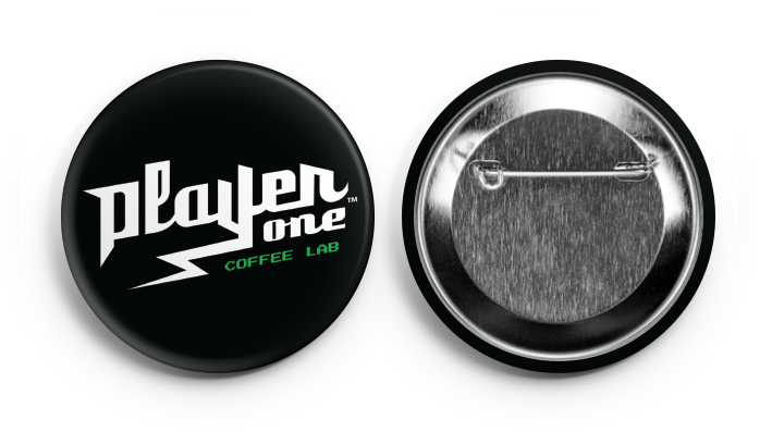 Player One Coffee Button coffee