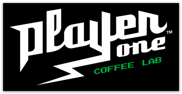 Player One Coffee Sticker coffee
