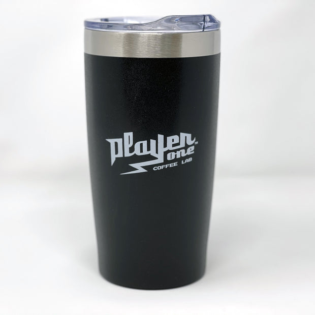 Death Before Decaf Vacuum Travel Tumbler - 18 oz. - Powder Coat