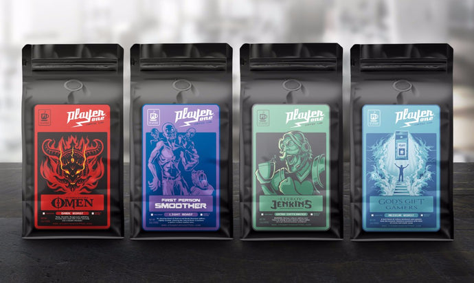 Player One Coffee Starter Pack (3.50 oz Bags)