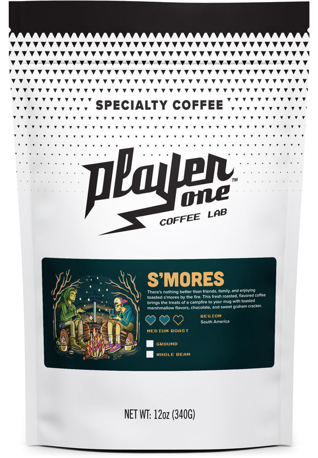 s'mores flavored coffee smorey