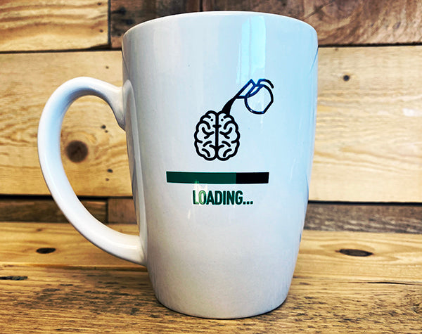 14oz Coffee Brain Mug
