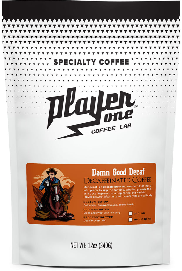 damn good decaf coffee