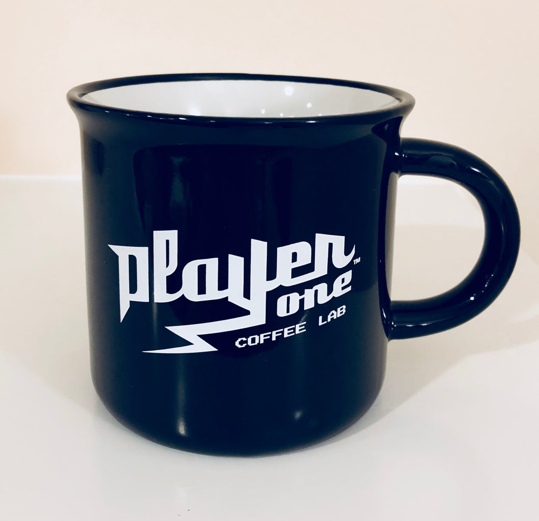 15oz Player One Coffee Distressed Mug