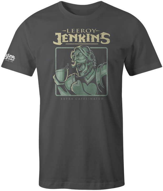 Leeroy Jenkins Men's T-Shirt coffee