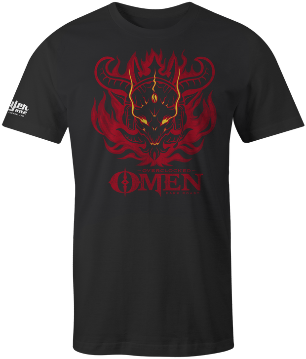 Omen Men's T-Shirt coffee