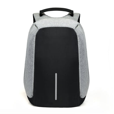 Unisex 15 inch Laptop Backpack Access to  USB Charging  Port Anti Theft, Waterproof School Bag - Bushkin Travel Tech