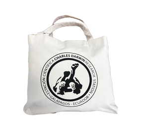 Beach Bag White Logo CDF