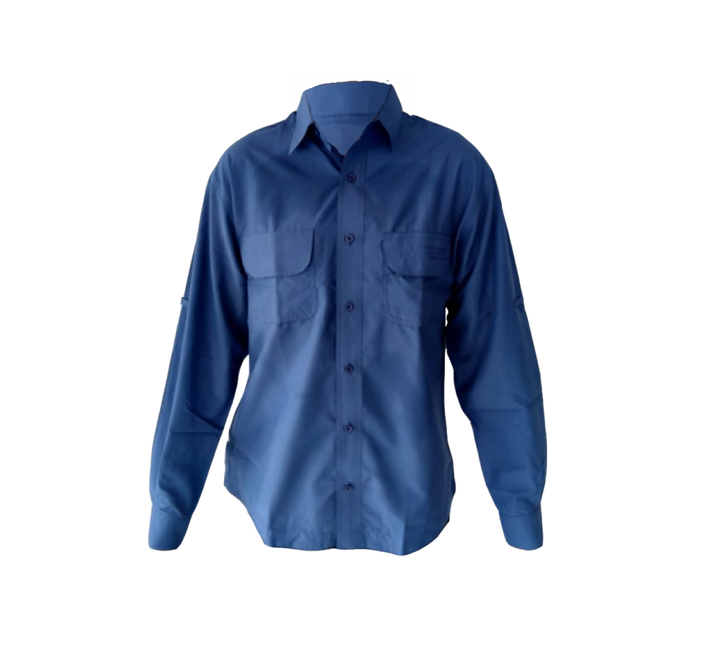 Men´s Top / Blue Shirt