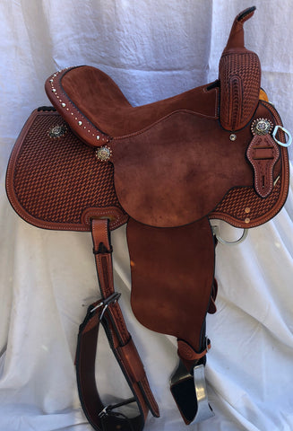 """Gold Rush"" BRX Saddle/Sharon Camarillo - NOW IN STOCK!"