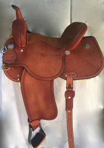 """Taking the Prize"" BRX Saddle by Sharon Camarillo"