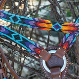 Headstall, Infinity Wrap Colorful Harness