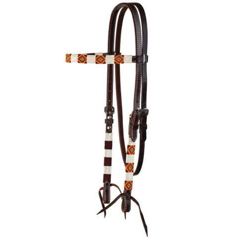Headstalls, Infinity Wrap Yellow Diamond